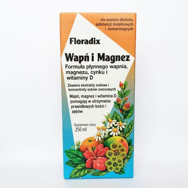 Obrazek Floradix Wapń i Magnez 250ml