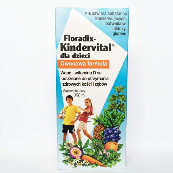 Obrazek Floradix Kindervital 250ml