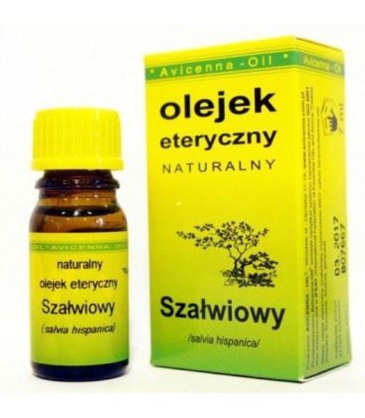 Obrazek Avicenna Olejek Szałwiowy 7 ml