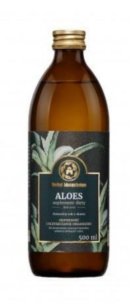 Obrazek Herbal Monasterium Sok Aloes 500 ml