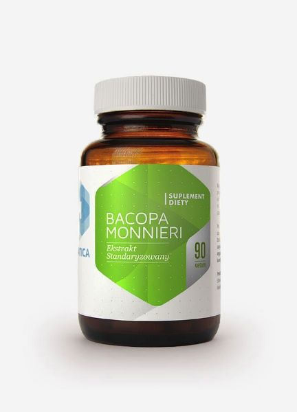 Obrazek Hepatica Bacopa Monnieri - Brahmi 90kaps.