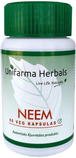 Obrazek Unifarma Herbals Neem 60 kaps.
