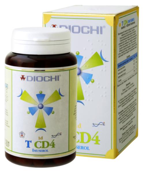 Obrazek Diochi T CD4 Imuserol kozia siara 80 kaps.