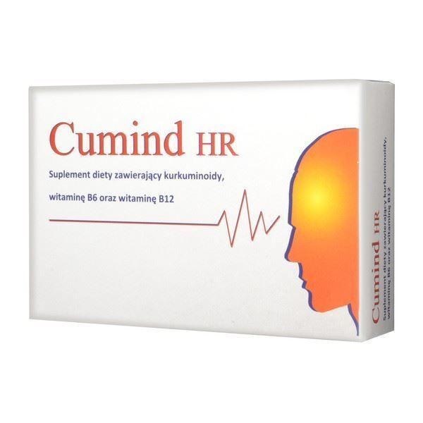 Obrazek Cumind HR kurkuma z wit B6 20 tabl.