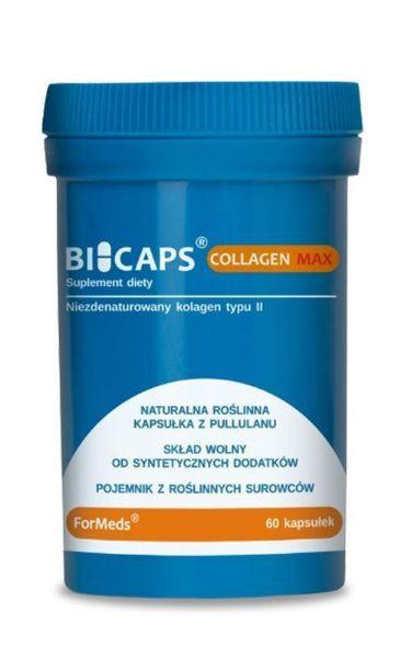 Obrazek Formeds Bicaps Collagen MAX 60 kaps.