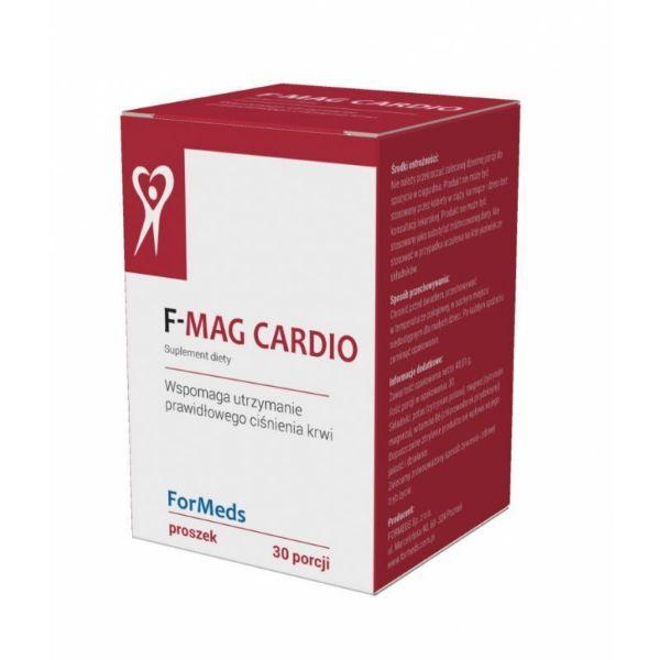 Obrazek Formeds Mag cardio magnez w proszku 30 porcji