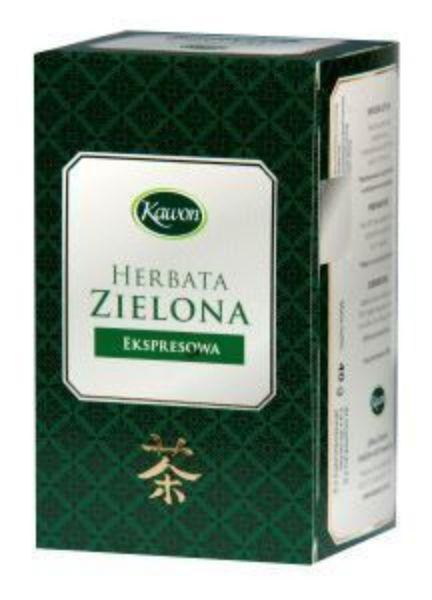 Obrazek Kawon Herbata zielona ekspresowa 40g