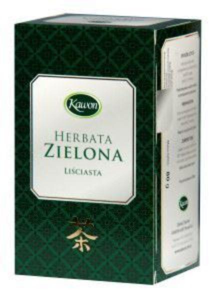 Obrazek Kawon Herbata zielona liściasta 80g
