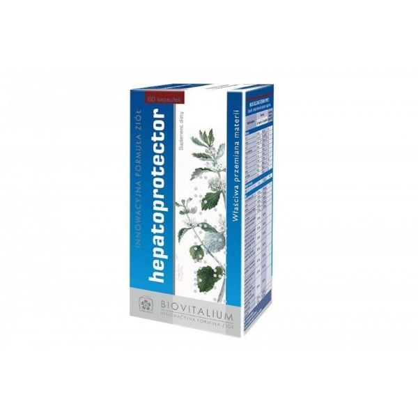 Obrazek Biovitalium Hepatoprotector 60 tabl.
