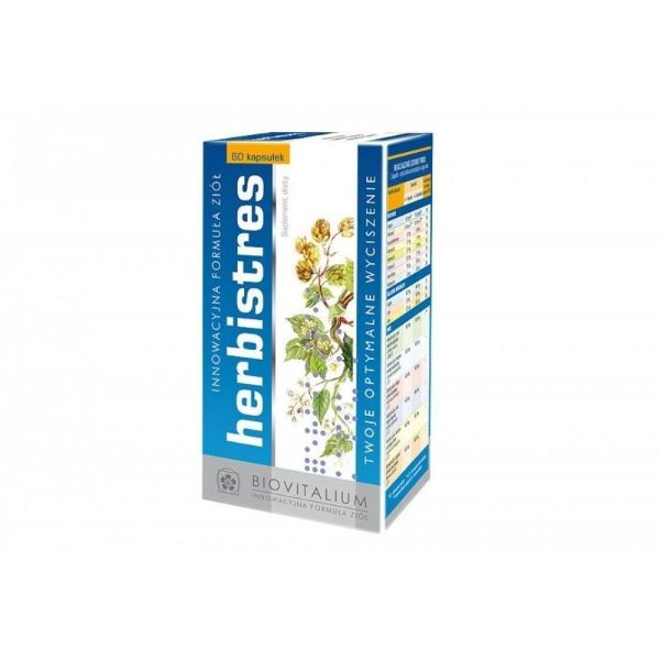Obrazek Biovitalium Herbistres 60 tabl.