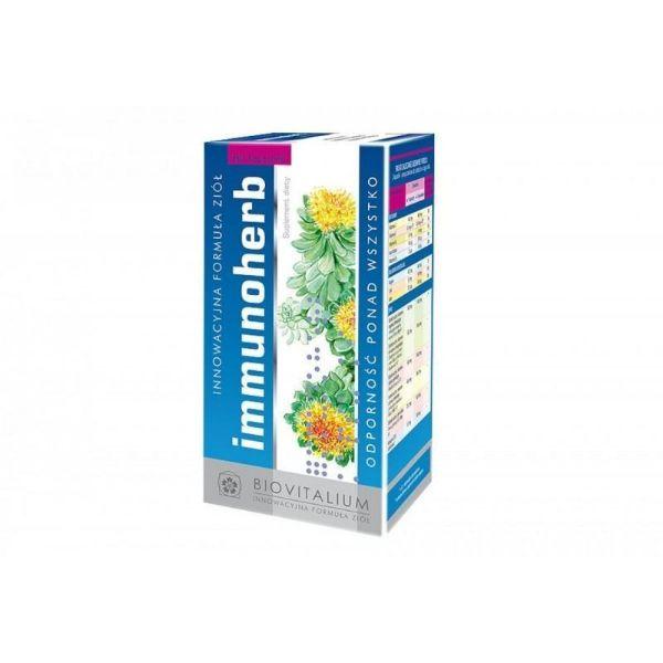 Obrazek Biovitalium Immunoherb 60 tabl.