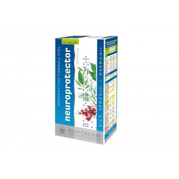 Obrazek Biovitalium Neuroprotecor 60 tabl.