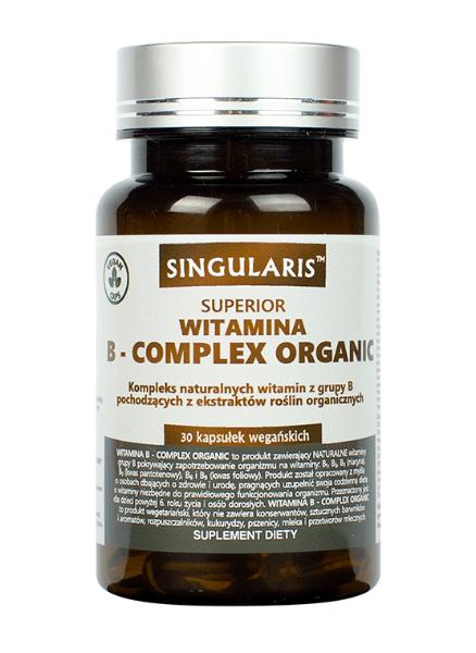 Obrazek Singularis Witamina B-Complex Organic 30kaps
