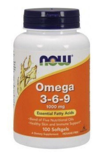 Obrazek Now Omega 3-6-9 100 kaps.