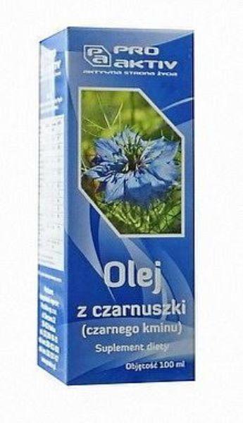 Obrazek ProAktiv Olej z czarnuszki 100ml