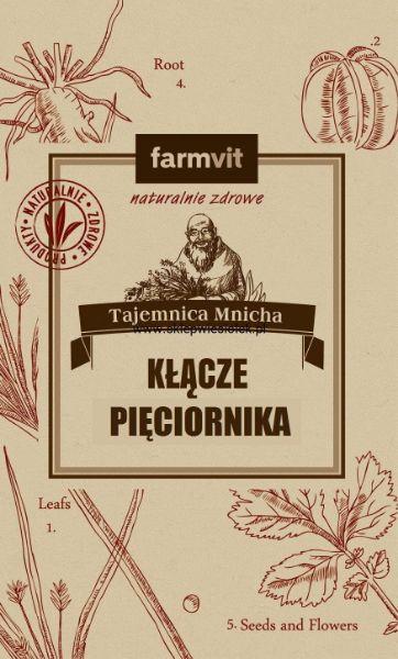 Obrazek Farmvit Kłącze pięciornika gęsiego 50g