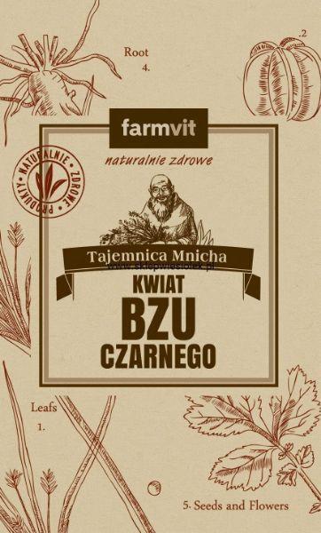 Obrazek Farmvit Kwiat czarnego bzu 50g
