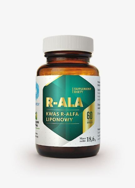 Obrazek Hepatica kwas R-Alfa liponowy 60 kaps.