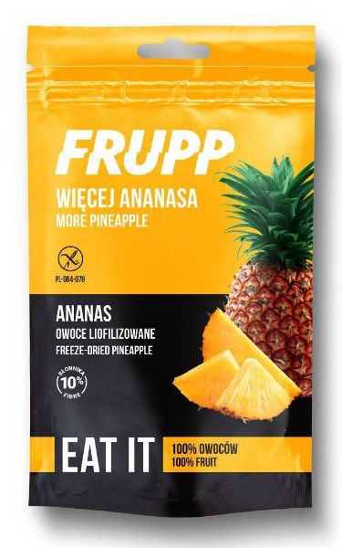 Obrazek FRUPP ananas liofilizowany 15g