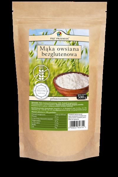 Obrazek Pięć Przemian mąka ryżowa pełnoziarnista 500g