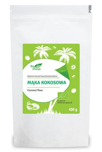 Obrazek BioPlanet Mąka kokosowa 400g
