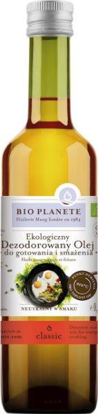 Obrazek BioPlanet olej do smażenia i gotowania BIO 500ml