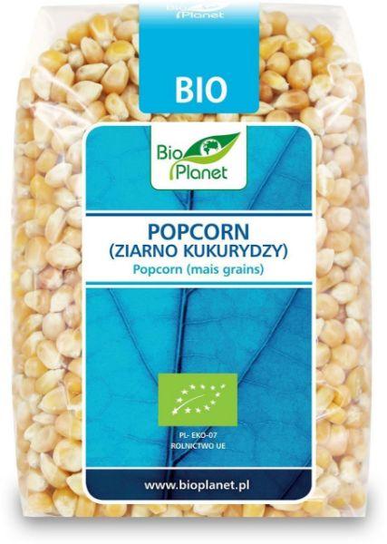 Obrazek BioPlanet Popcorn (ziarno kukurydzy) BIO 400g