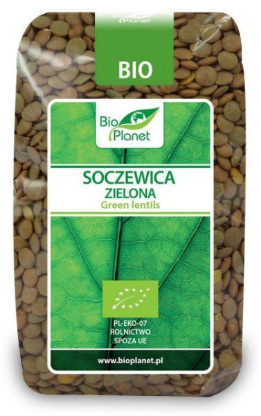 Obrazek BioPlanet Soczewica zielona BIO 400g