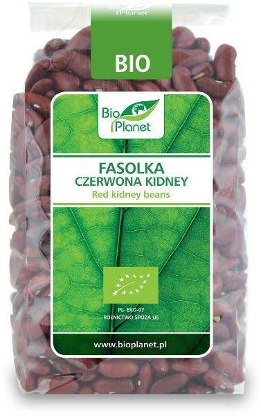 Obrazek BioPlanet Fasolka czerwona KIDNEY 400g