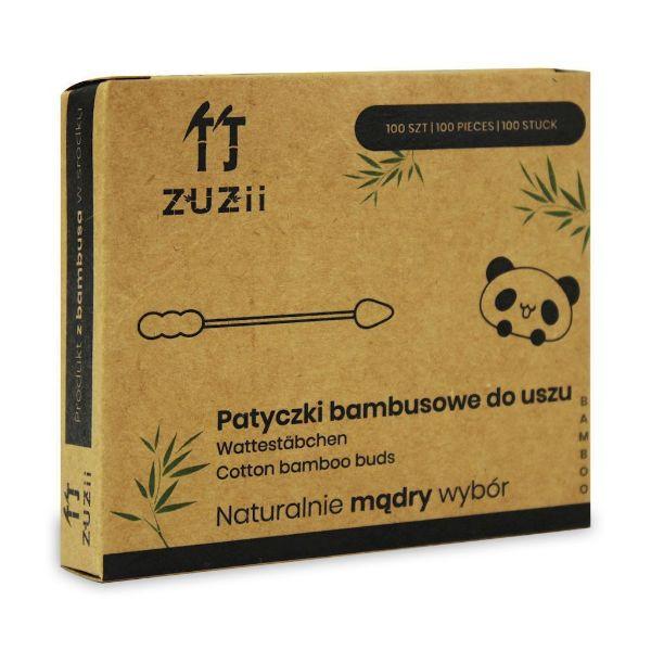 Obrazek Zuzii Patyczki higieniczne bambusowe - bałwanki