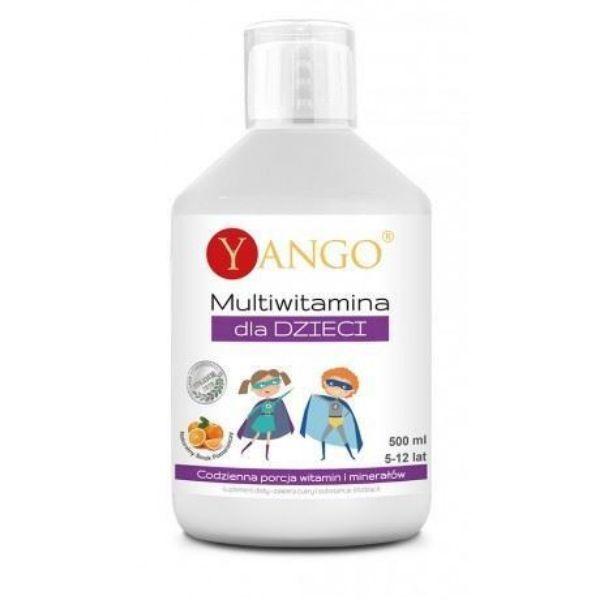 Obrazek YANGO Multiwitamina dla dzieci 500 ml