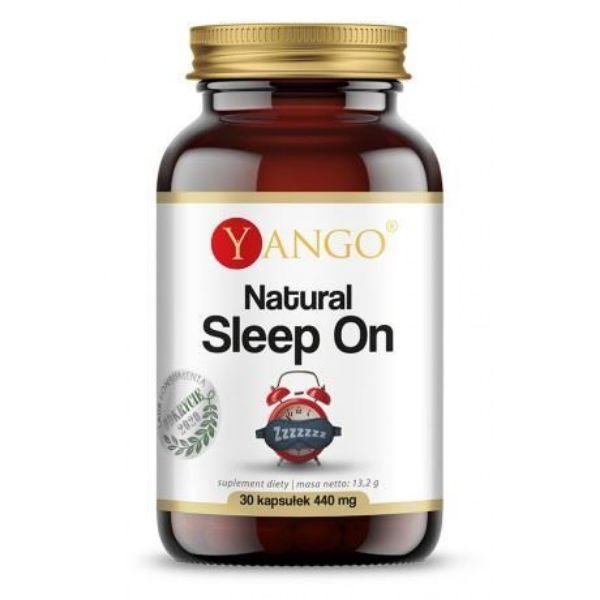Obrazek YANGO Natural Sleep On 30 kaps.