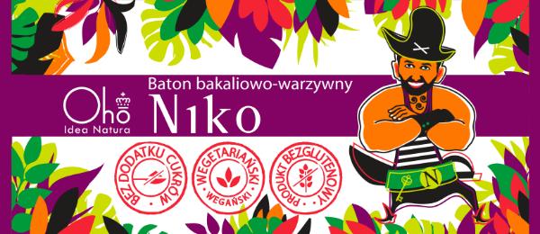 Obrazek Flott Baton bakaliowo-warzywny Niko 60g