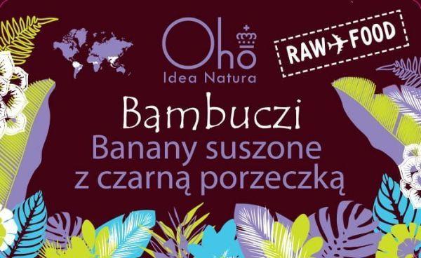 Obrazek Flott Banany z czarna porzeczką Bambuczi 50g