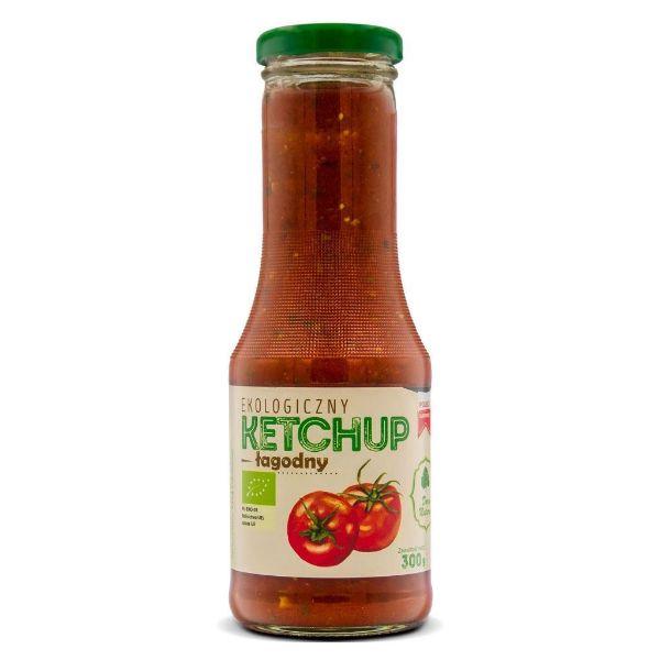 Obrazek Dar Natury Eko Ketchup łagodny 300g
