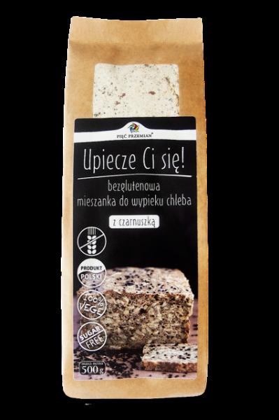 Obrazek Pięć Przemian mieszanka chleba z czarnuszką 500 g