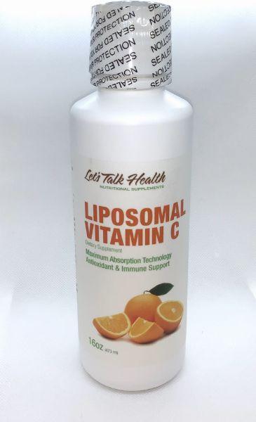 Obrazek Let's Talk Health Liposomalna witamina C 473ml