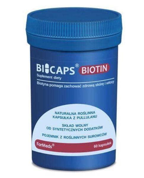 Obrazek Formeds Bicaps Biotin 60 kaps.