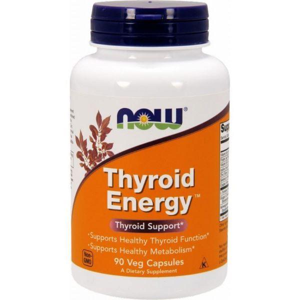 Obrazek Now Thyroid Energy 90 kaps.