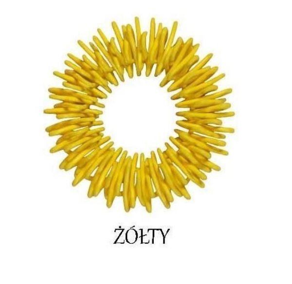 Obrazek Pierścień sudżok Żółty