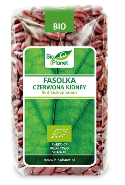 Obrazek BioPlanet Fasolka czerwona Kidney 500g