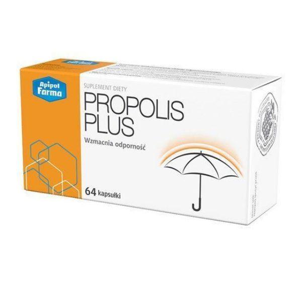 Obrazek Farmina Propolis Plus 64 kaps.