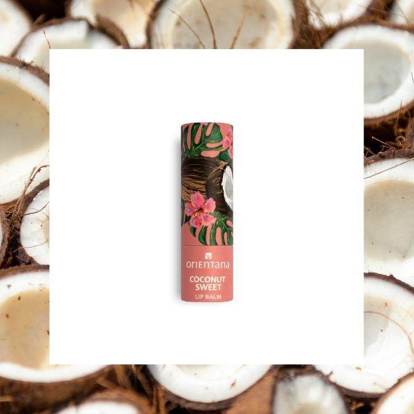 Obrazek Orientana Balsam do ust Coconut sweet