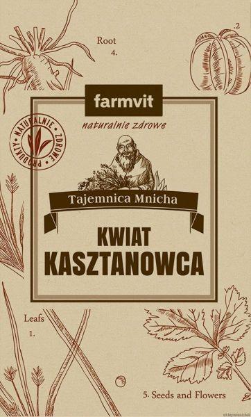 Obrazek Farmvit Kwiat kasztanowca 50g