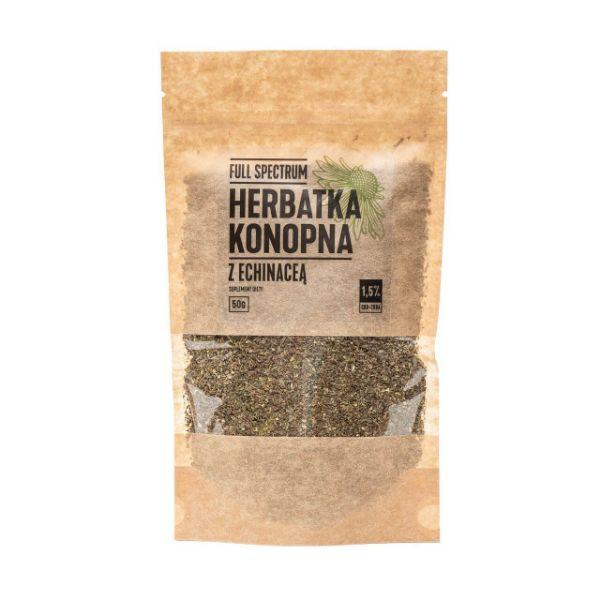 Obrazek Full Sepctrum Herbatka konopna z echinaceą 2% CBD
