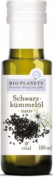 Obrazek BioPlanet Olej z czarnuszki BIO 100ml
