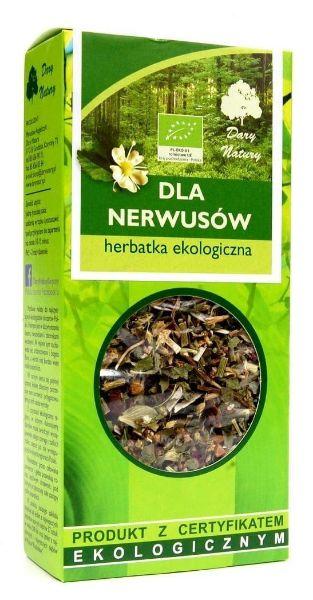 Obrazek Dary Natury Herbata dla Nerwusów 50g