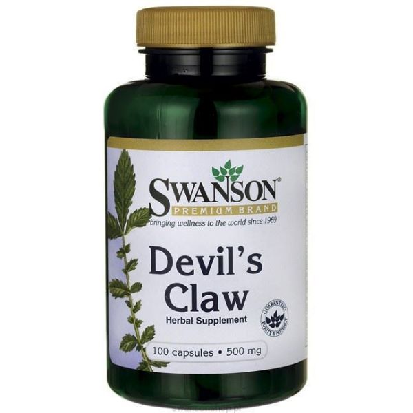 Obrazek Swanson Devil's Claw 100 kaps.