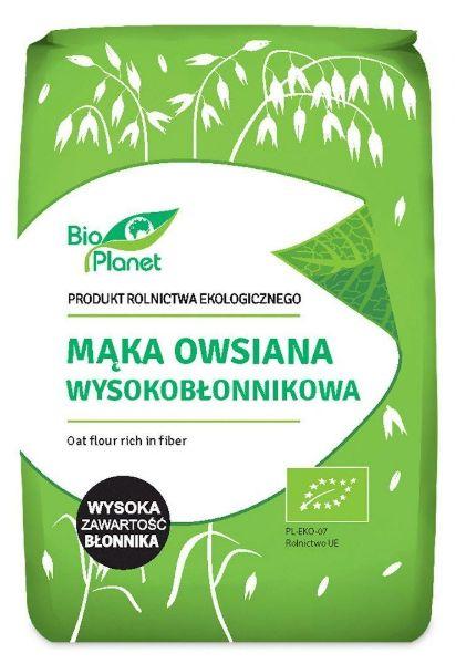 Obrazek BioPlanet Mąka owsiana 1 kg