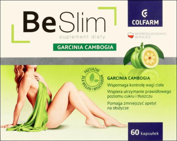 Obrazek Colfarm Be Slim Garcinia Cambogia 60 tabl.